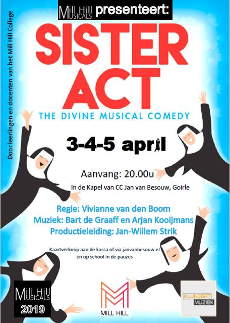 Mill Hill Musicals presenteert: SISTER ACT
