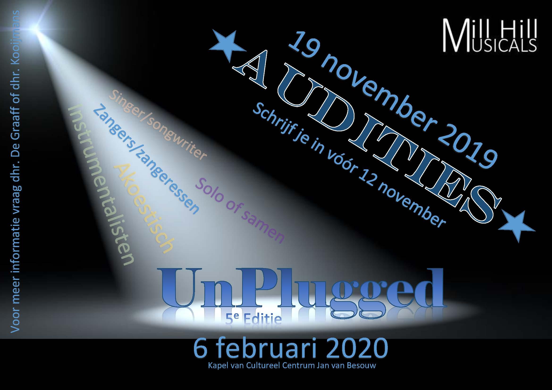 AUDITIES  Unplugged, editie #5