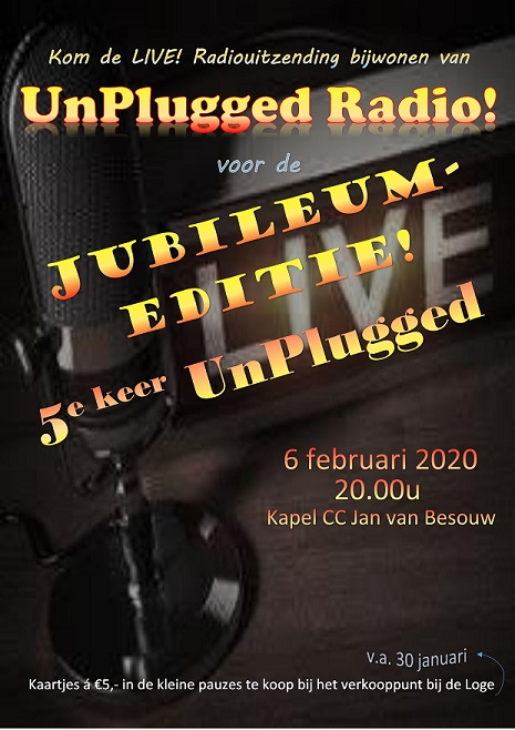 Mill Hill College presenteert: UnPlugged #5
