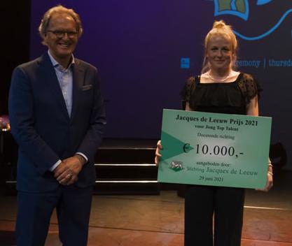 Roos Pierson wint Jacques de Leeuwprijs
